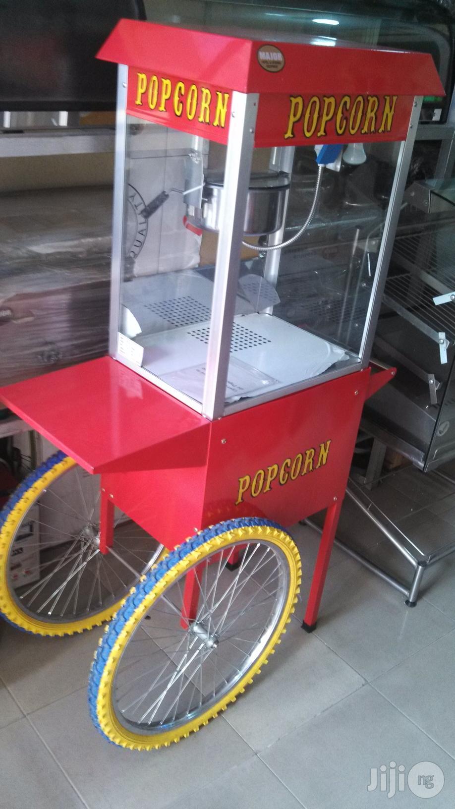 Sample Pocorn Machine With Trolley