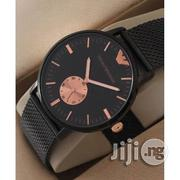 Brand New Emporio Armani Men's Watch - Black | Watches for sale in Lagos State