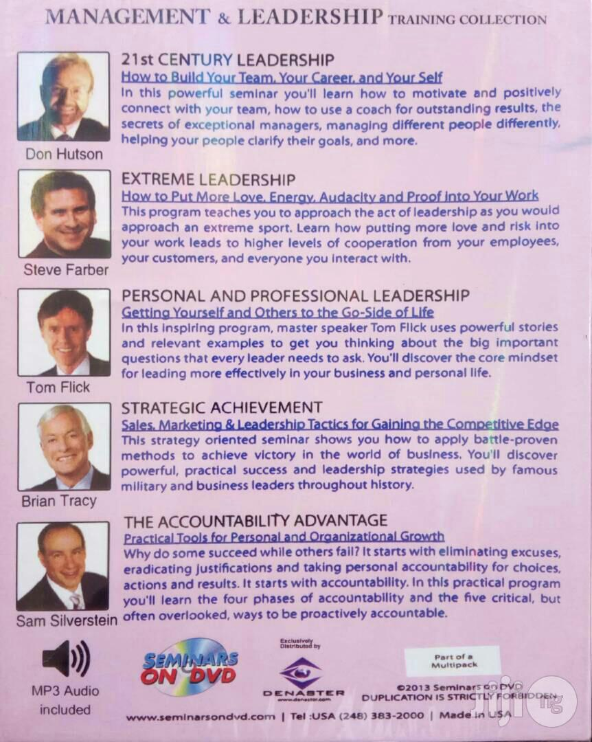 Management And Leadership - Training Collection(FREE SHIPPING) | CDs & DVDs for sale in Akinyele, Oyo State, Nigeria