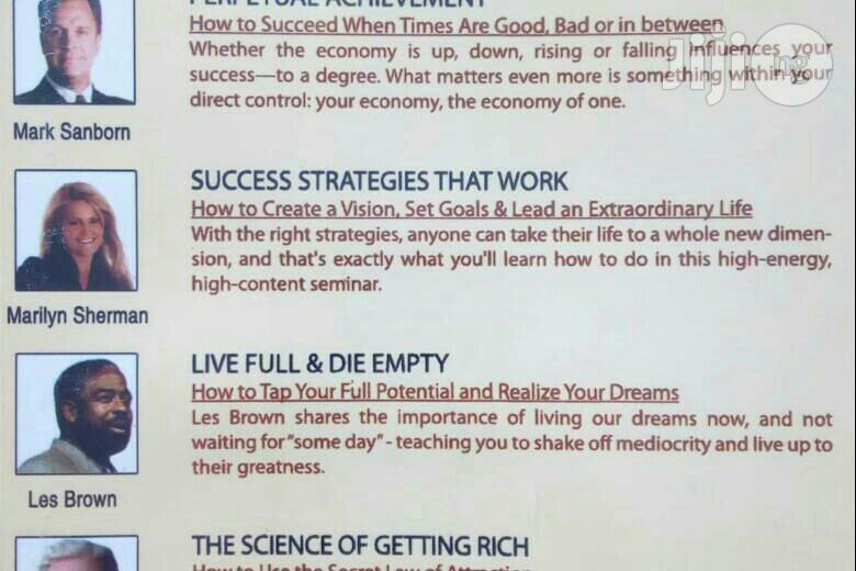 Success And Achivement - Training Pack (FREE SHIPPING) | CDs & DVDs for sale in Akinyele, Oyo State, Nigeria