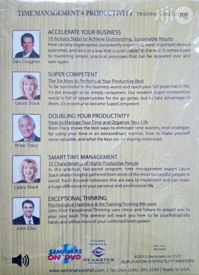 Time Management And Productivity - Training Collection | CDs & DVDs for sale in Akinyele, Oyo State, Nigeria