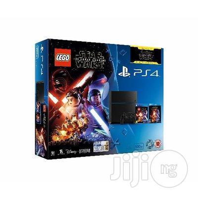 Sony Playstation 4 500GB Console With LEGO Star Wars +2 Games