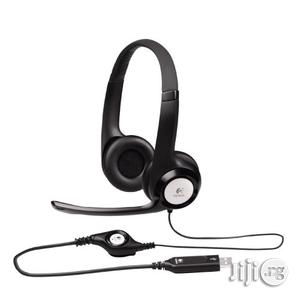 Logitech USB Headset H390 With Noise Cancelling Mic | Headphones for sale in Lagos State
