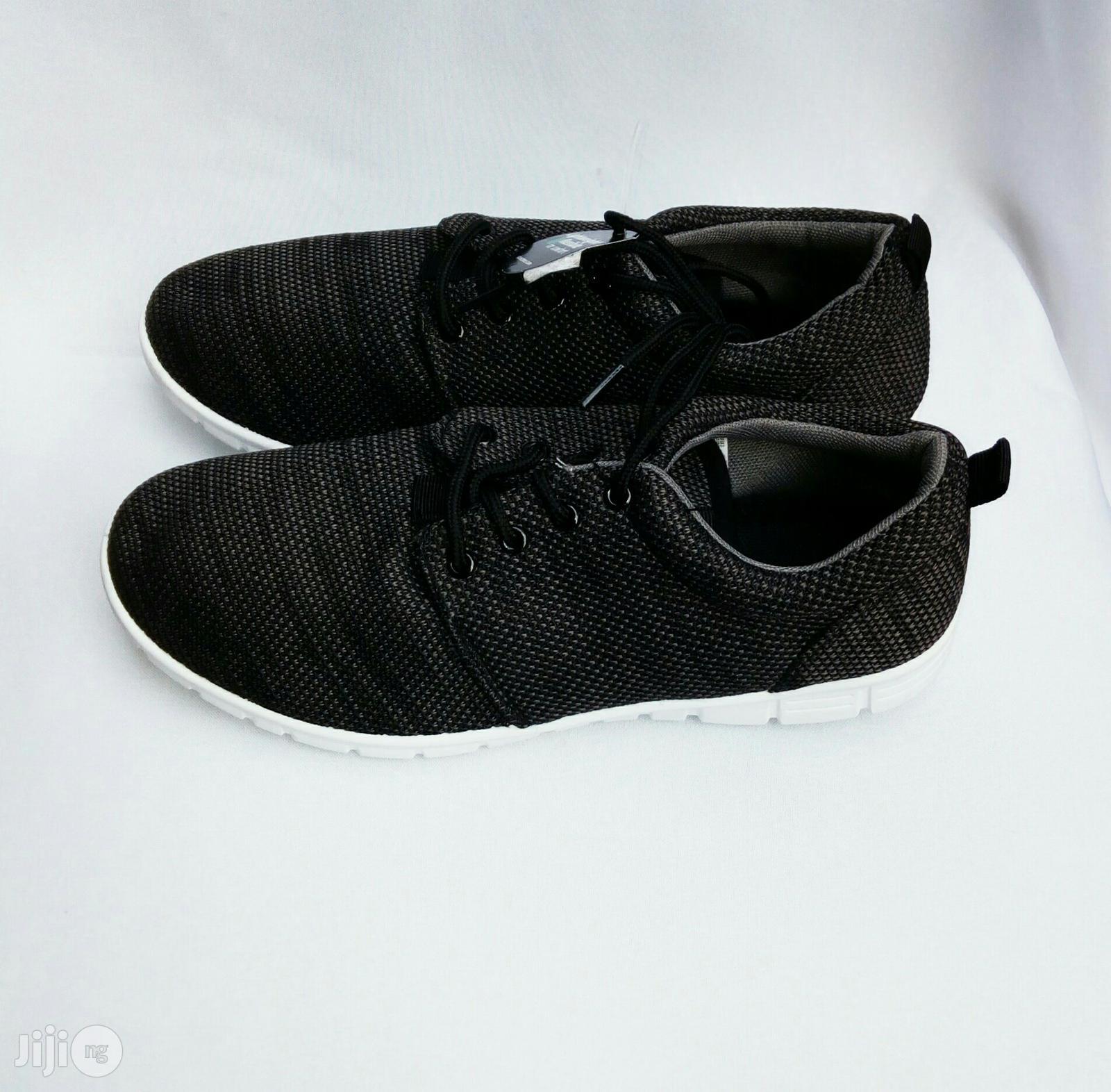 Black Sneakers | Shoes for sale in Lagos Island (Eko), Lagos State, Nigeria