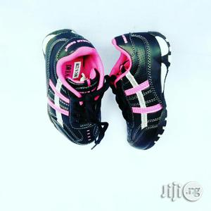 Black and Pink Canvas | Children's Shoes for sale in Lagos State, Lagos Island (Eko)
