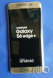 Used Samsung Galaxy S6 Edge+ Gold 32 GB | Mobile Phones for sale in Lagos State, Ikeja