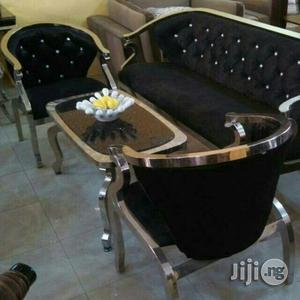 5 Seater Swede Mini -Sofa/Center Table   Furniture for sale in Abuja (FCT) State, Wuse