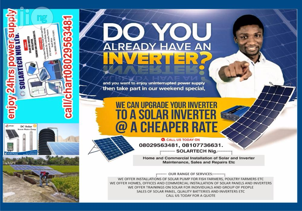 Do Already An Inverter But Tired Of Buying Fuels?