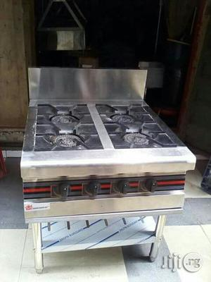 4 Burners Standing Gas Cooker Without Oven   Restaurant & Catering Equipment for sale in Lagos State, Ojo