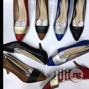 Two Colour Kitten Heel Shoe | Shoes for sale in Lagos State, Ikoyi