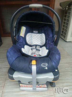 Tokunbo Uk Used Blue Chicco Keyfit30 Baby Car Seat | Children's Gear & Safety for sale in Lagos State