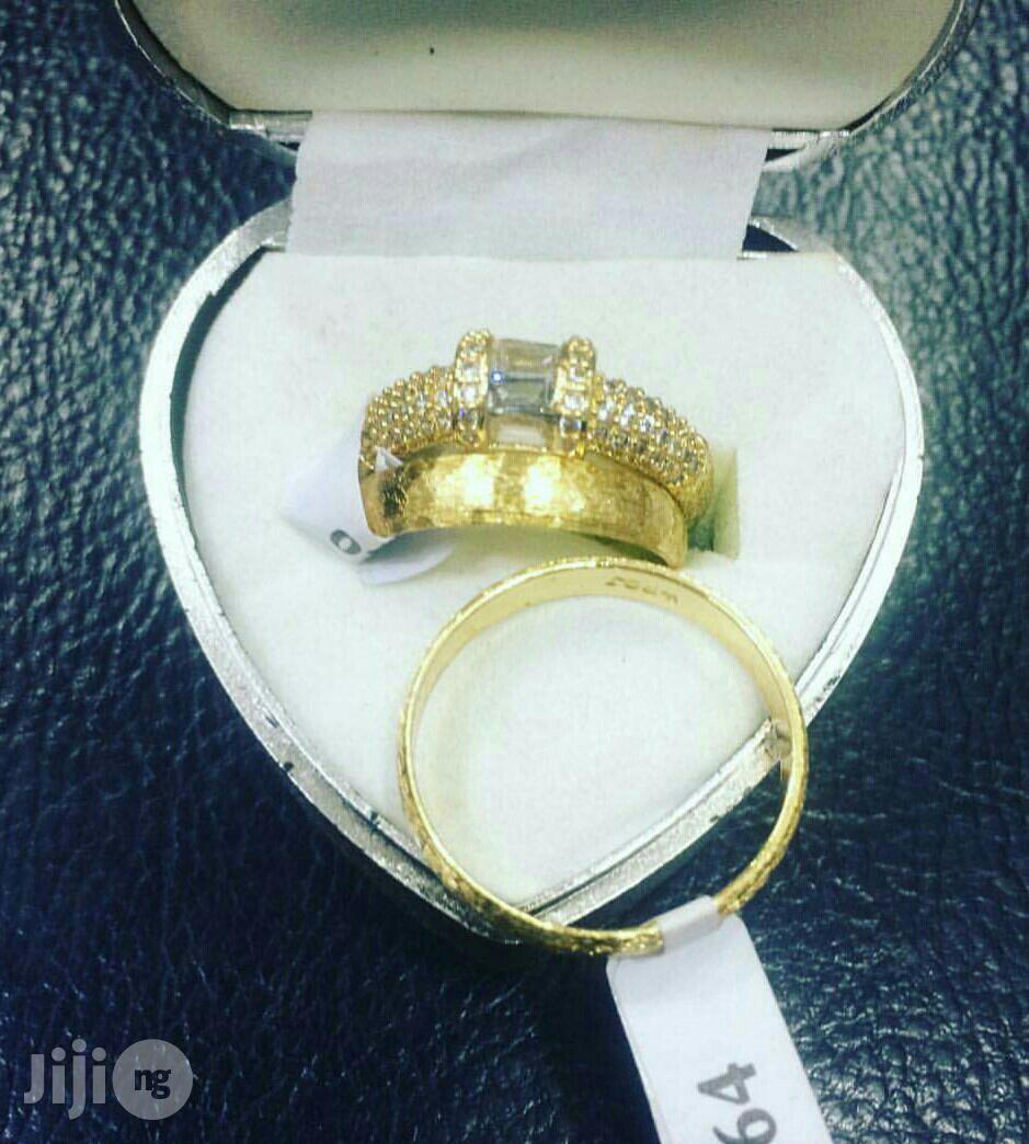 Wedding Ring .18karat Gold Plated