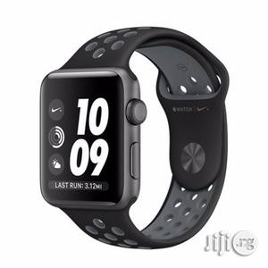 Apple Watch Series 3 Nike+ - GPS+Cellular - Space Gray Aluminum Case.   Smart Watches & Trackers for sale in Lagos State, Ikeja
