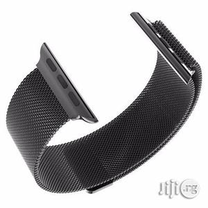 38mm Watch Loop Band Strap for Apple With Adapter - Black   Smart Watches & Trackers for sale in Lagos State