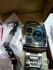 Police Silver Watch With Bangle   Watches for sale in Lagos State, Surulere