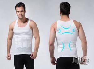 Men's Slim Body Shaper Belly Underwear Vest | Clothing for sale in Lagos State, Surulere
