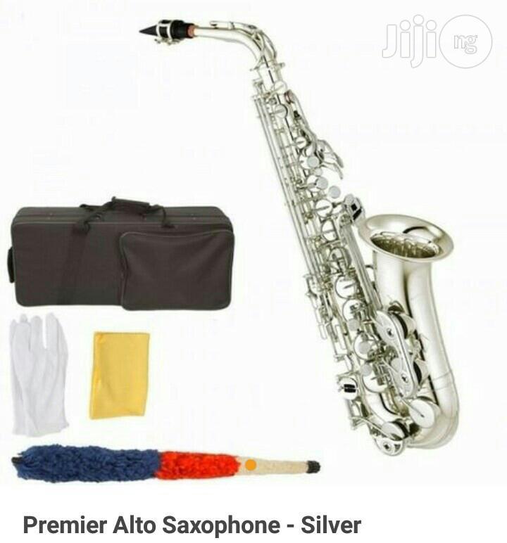Alto Saxophone Silver Colour