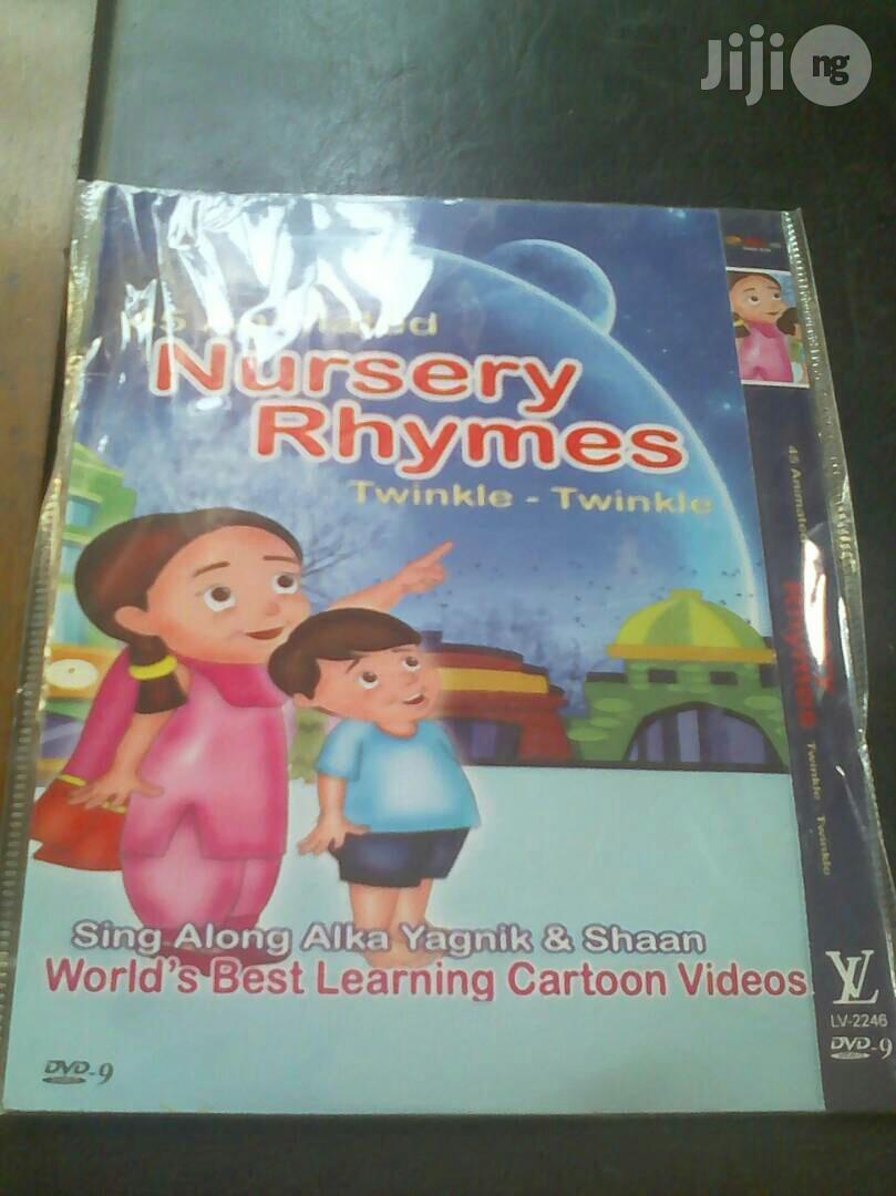 Nursery Rhymes - Educational Dvd