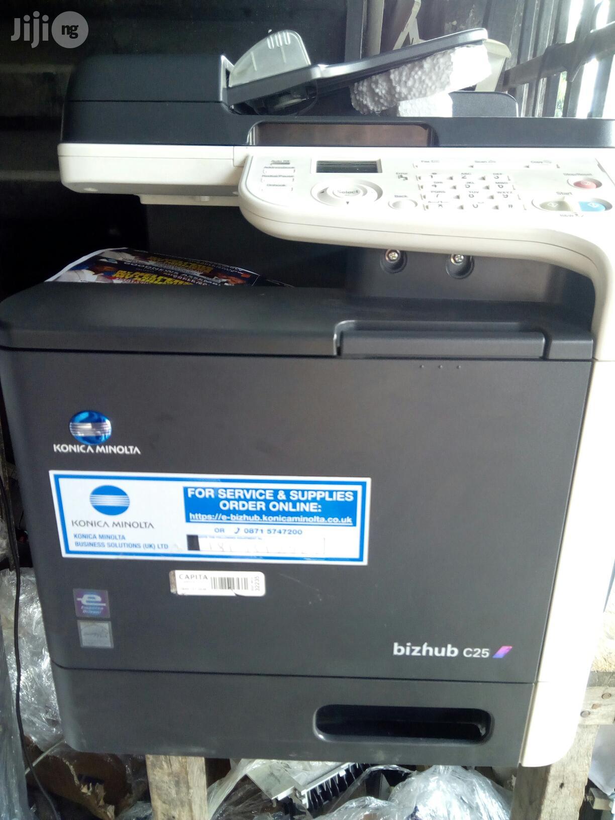 Archive Bizhub C25 Color Di Konica Minolta Printer In Surulere Printers Scanners Osita Jake Okafor Okafor Jiji Ng