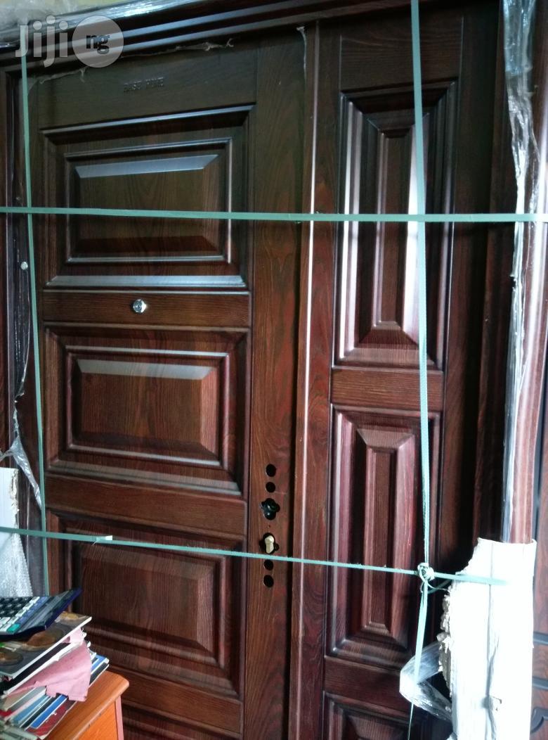 4ft Wide German Security Steel Door