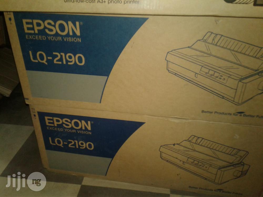 Epson LQ- 2190 Dot Matrix Printer