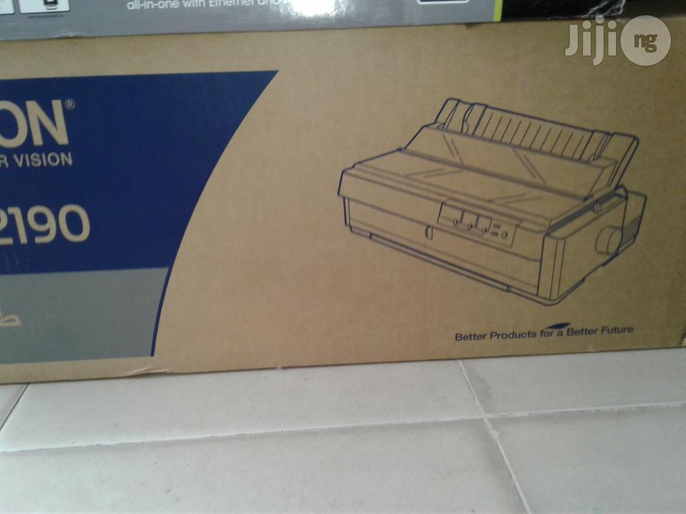 Epson LQ- 2190 Dot Matrix Printer   Printers & Scanners for sale in Ikeja, Lagos State, Nigeria