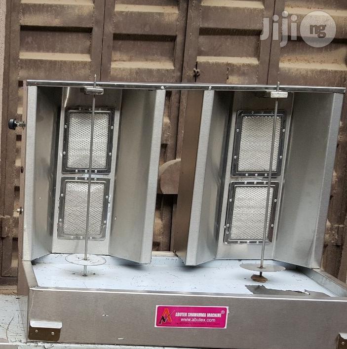 Gas Shawarma Machine Double