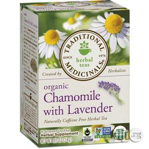Organic Chamomile With Lavender Herbal Tea, 16 | Vitamins & Supplements for sale in Lagos State, Ifako-Ijaiye