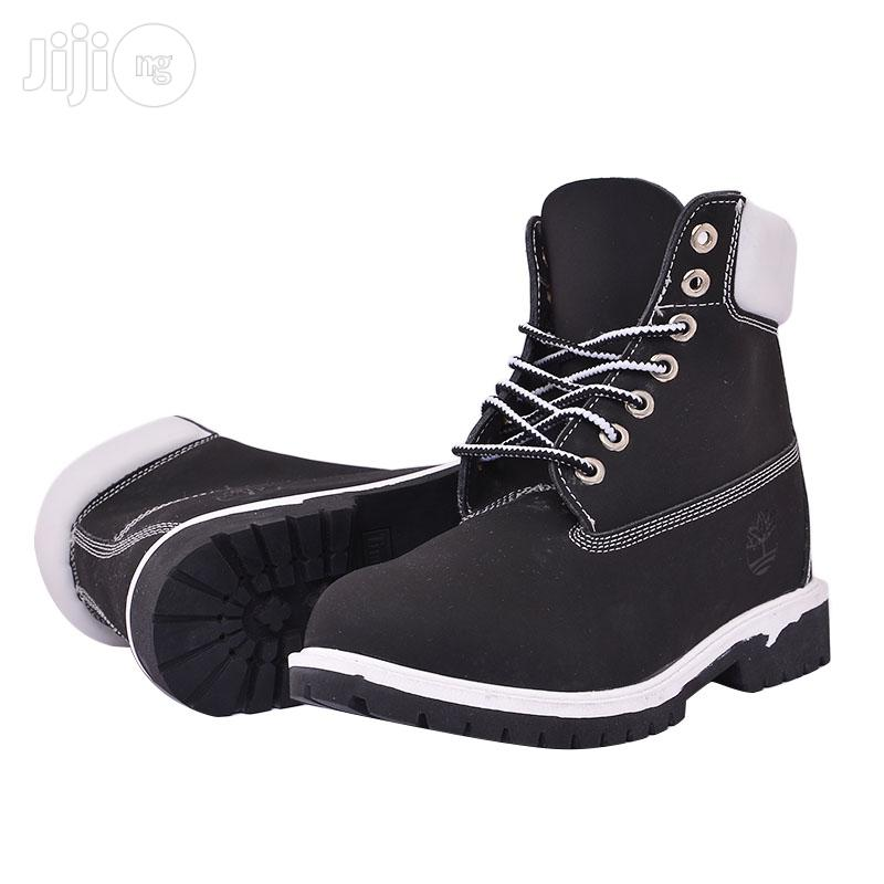 Archive: Timberland Boots in Black