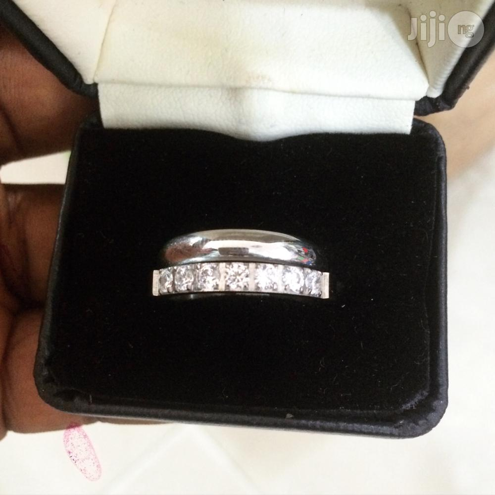 Pure Stainless Silver Steel Wedding Ring | Wedding Wear & Accessories for sale in Ajah, Lagos State, Nigeria