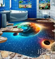Amazing Planetary Body Epoxy Floor | Building Materials for sale in Lagos State