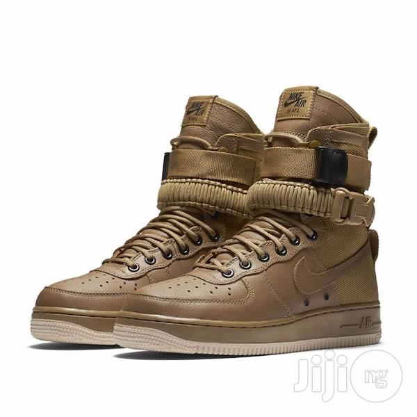 Archive: Nike Air Force 1 High Top Boots