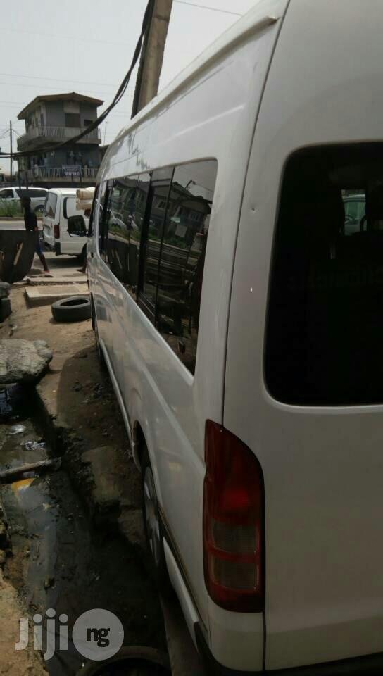 Toyota Hiace 2013 White | Buses & Microbuses for sale in Ikeja, Lagos State, Nigeria
