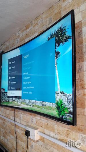 "Samsung Smart UHD Curlved Led Tv 48""   TV & DVD Equipment for sale in Lagos State, Ojo"