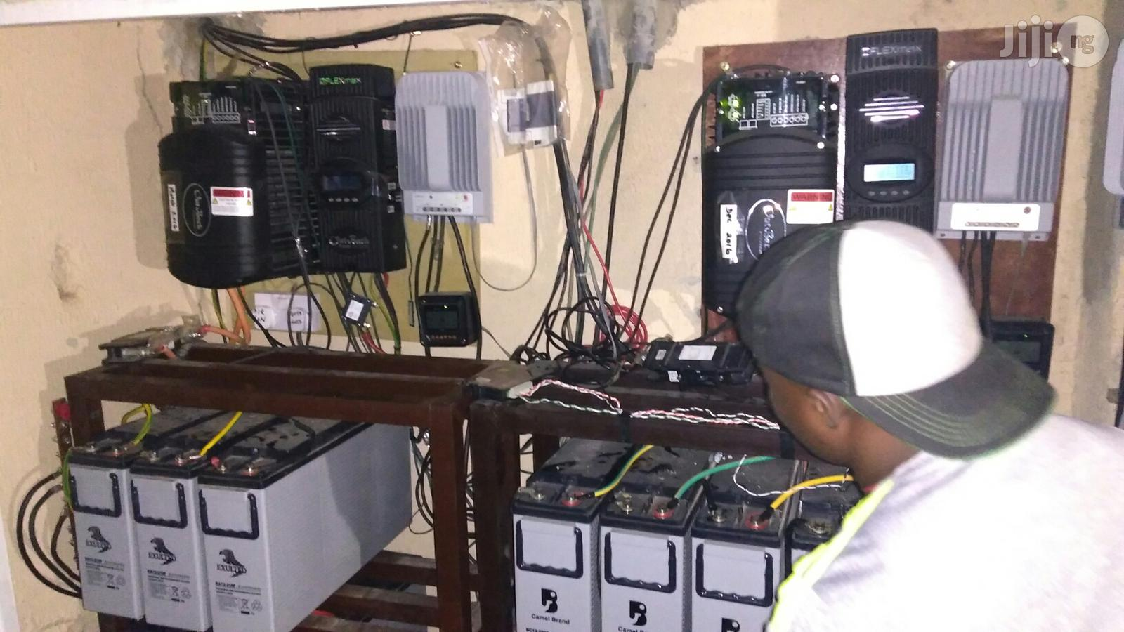 Inverter Installation, Repairs And Maintainence   Building & Trades Services for sale in Garki 2, Abuja (FCT) State, Nigeria