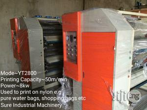 Nylon Extruder Printing Bag Making Recycling Punching Machine   Manufacturing Equipment for sale in Lagos State, Ojo