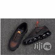 Nike Vapour Max 2018 Sneakers in Grey/Black/Orange | Shoes for sale in Lagos State, Lagos Island