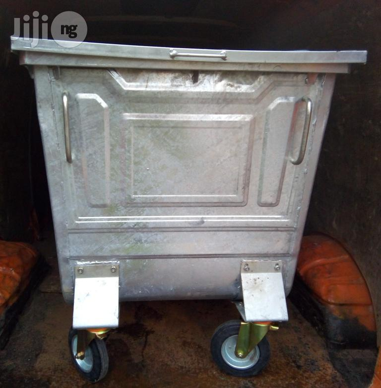 Continental 500 Litre Galvanized Waste Bin | Home Accessories for sale in Ikoyi, Lagos State, Nigeria