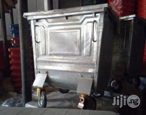 500 Litre Galvanised Metal Wheeled Garbage Container | Manufacturing Equipment for sale in Lagos State, Ikeja