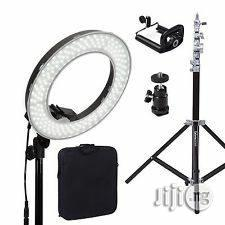 Ring Lights 55w LED Dimmable Bi-color Lighting Kit | Accessories & Supplies for Electronics for sale in Lagos State, Lagos Island (Eko)