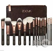 Zoeva 15pcs Proffesional Brush Set With a Make-Up Leather Bag | Makeup for sale in Lagos State