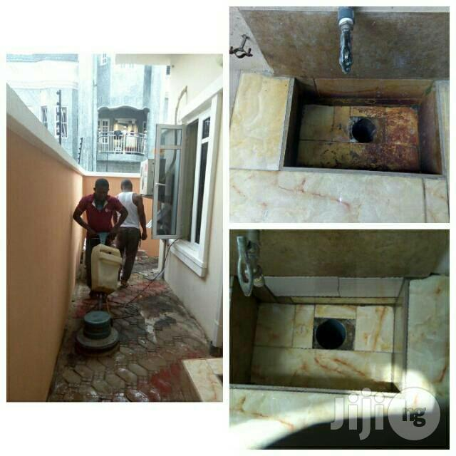 Cleaning & Tiles Polishing