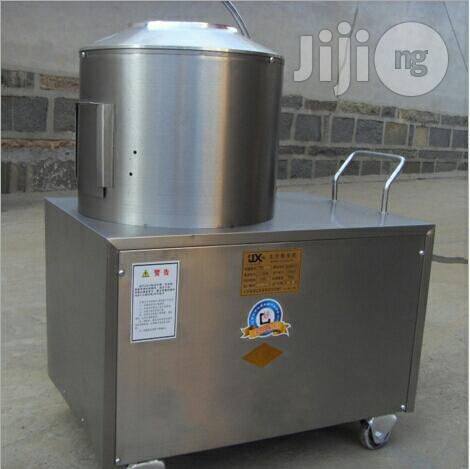 Industrial Potato Washing and Peeling Machine