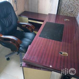 Brand New Imported Executive Office Table With Executive Turning Chair   Furniture for sale in Lagos State, Ojo