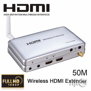 50M HDMI Wireless Transmission Extender HD 1080P Video Receiver(200ft) | Photo & Video Cameras for sale in Rivers State, Port-Harcourt