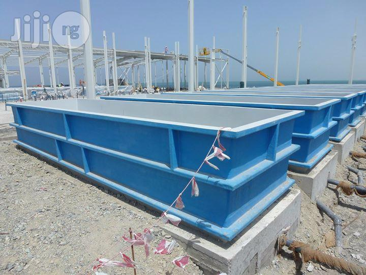 FRP/GRP (Fibre Reinforced Plastic) Type Fish Farming Tanks