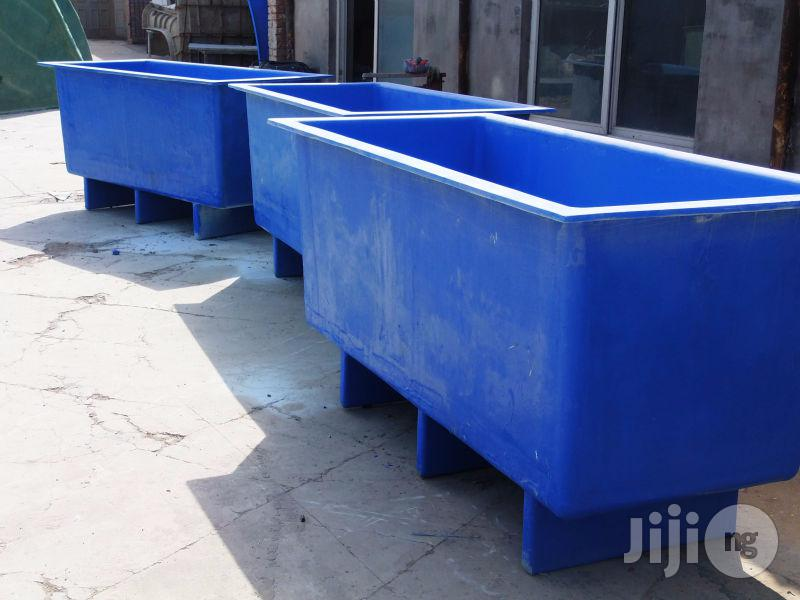 FRP/GRP (Fibre Reinforced Plastic) Type Fish Farming Tanks | Manufacturing Services for sale in Kubwa, Abuja (FCT) State, Nigeria