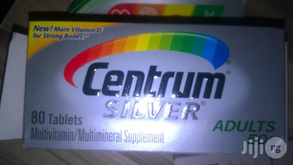 Centrum Silver By 80 Tables | Vitamins & Supplements for sale in Surulere, Lagos State, Nigeria