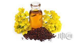Mustard Seed Oil Coldpressed Organic Unrefined Oil