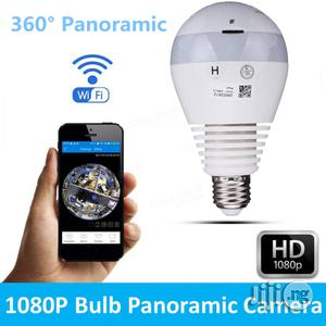 360° Panoramic Hidden Fish Eye Camera LED Light Bulb 1080P HD | Security & Surveillance for sale in Lagos State